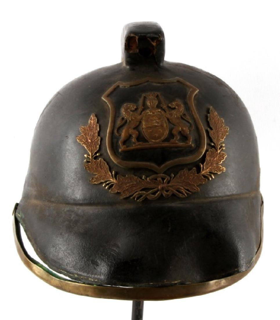 NORTH AFRICAN POLICE OR PARADE HELMET