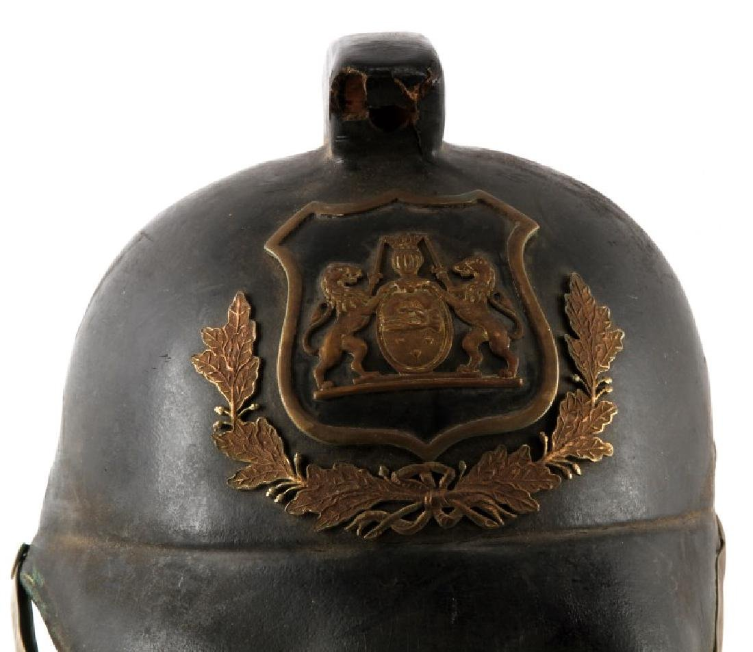 NORTH AFRICAN POLICE OR PARADE HELMET - 2