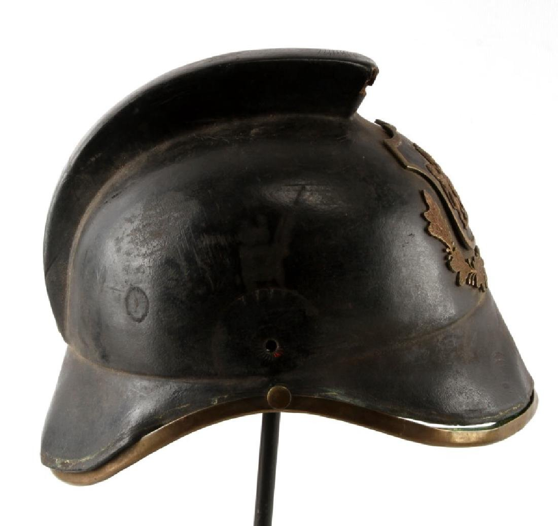 NORTH AFRICAN POLICE OR PARADE HELMET - 3
