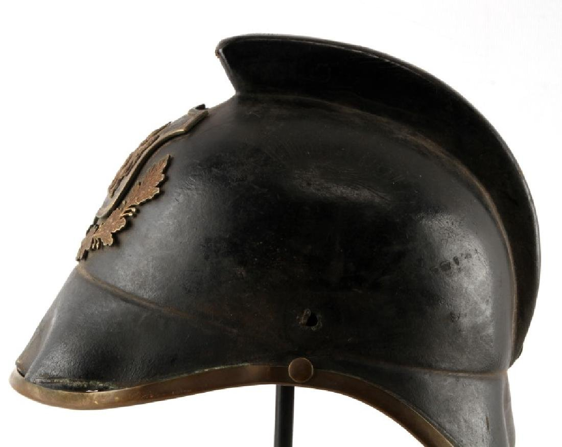NORTH AFRICAN POLICE OR PARADE HELMET - 5