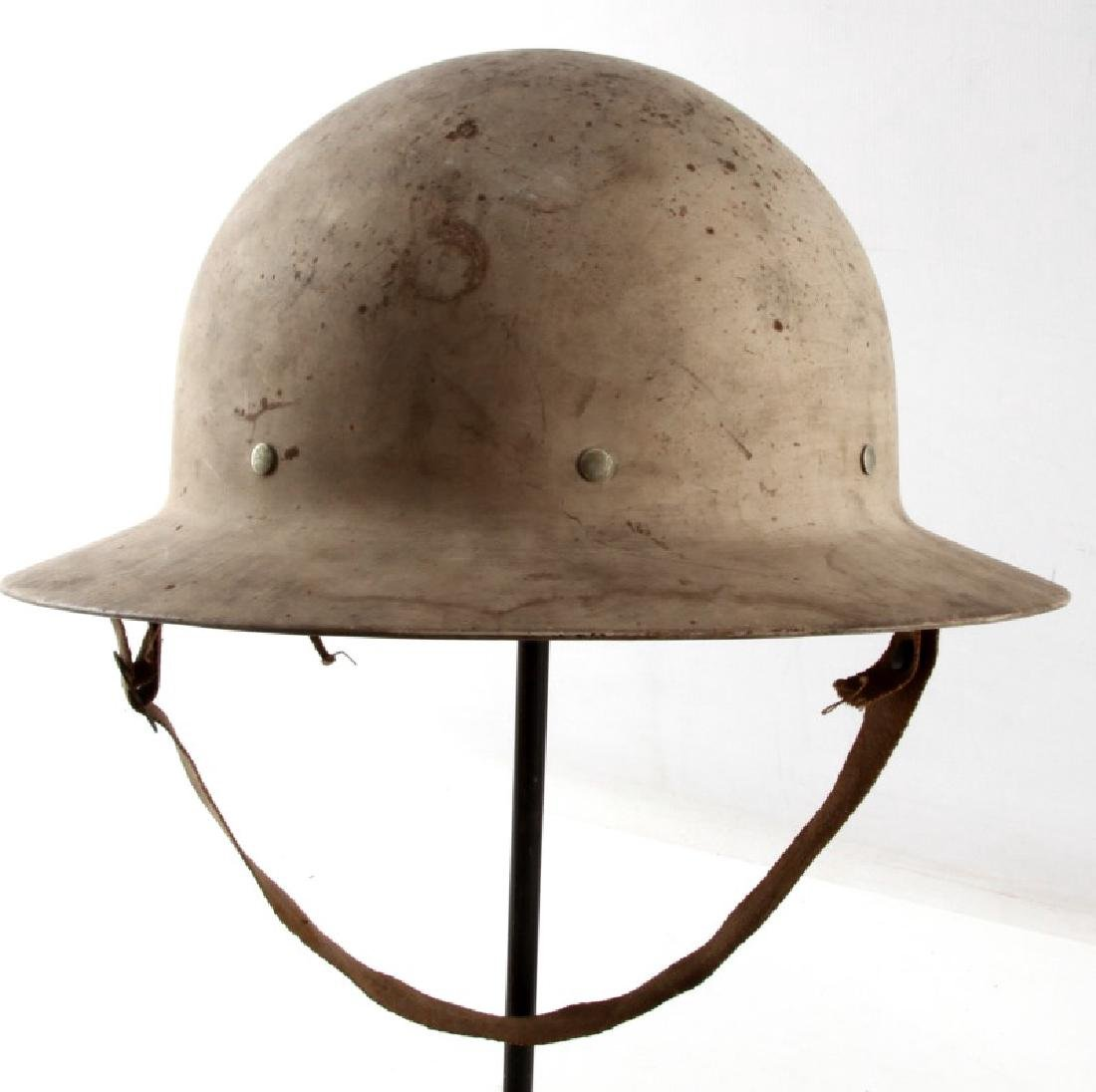 WWII UNITED STATES OCD CIVIL DEFENSE HELMET