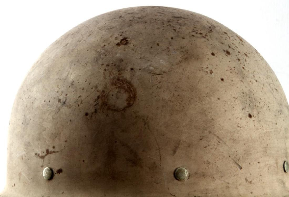 WWII UNITED STATES OCD CIVIL DEFENSE HELMET - 2