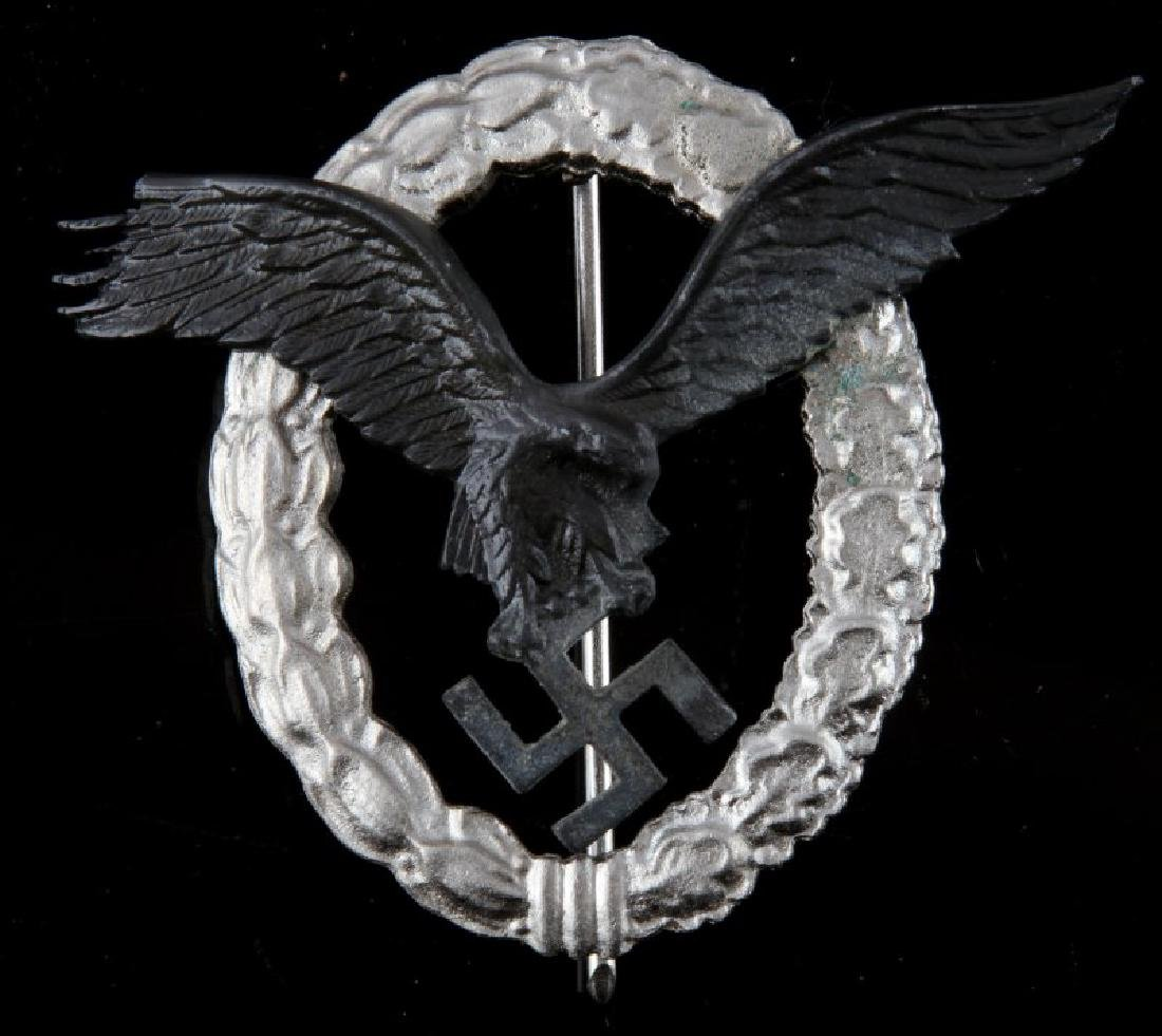 GERMAN WWII LUFTWAFFE PILOTS BADGE