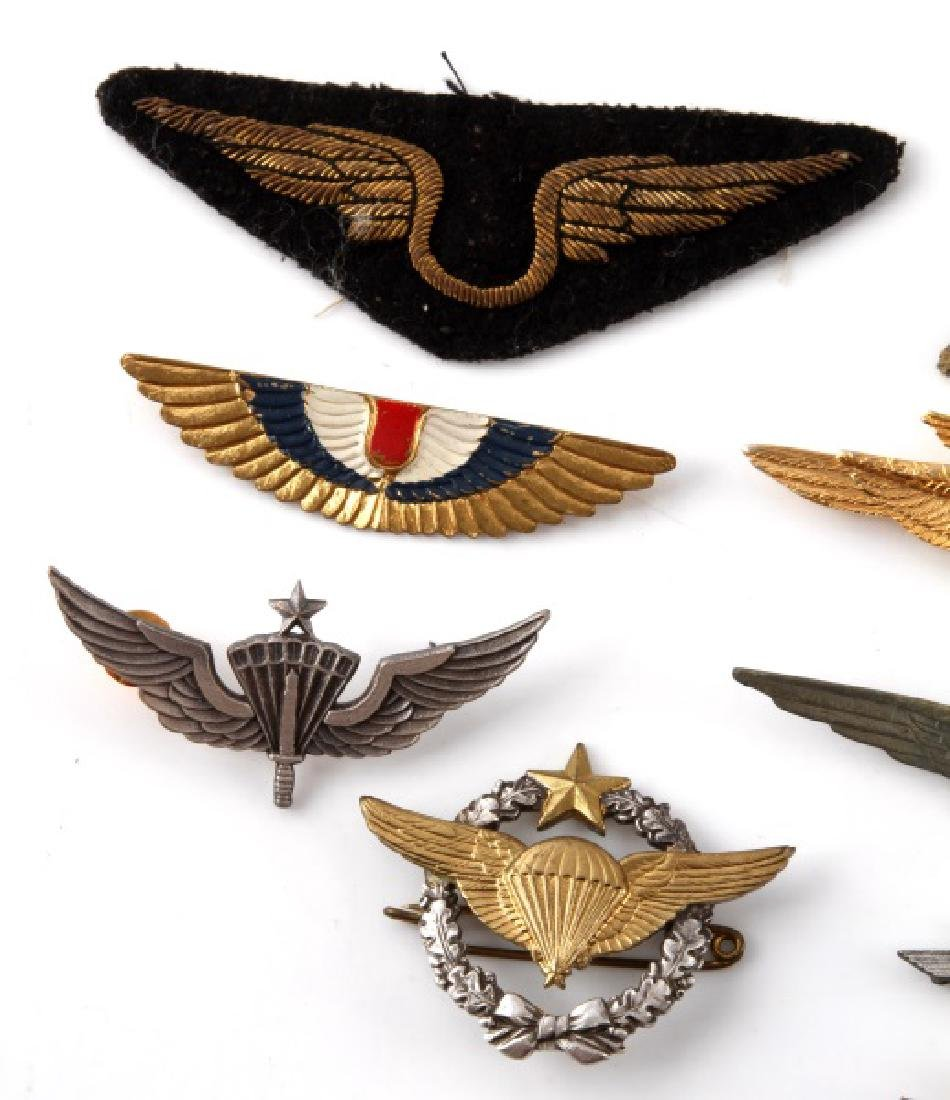 ASSORTED VINTAGE WING LOT PINS & PATCHES - 3