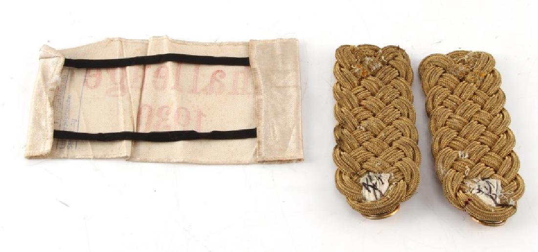 GERMAN 1930 LUFTWAFFE CHALLENGE ARMBAND AND BOARDS - 4