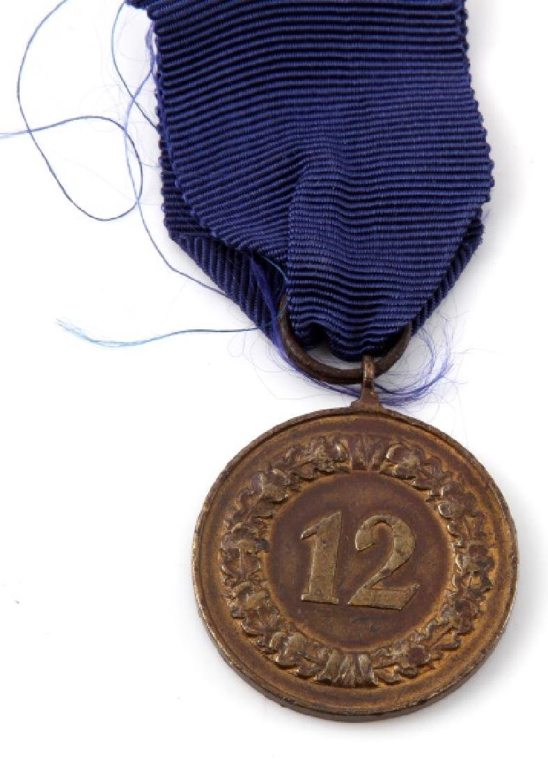 GERMAN WWII 12 YEAR LONG SERVICE AWARD - 3