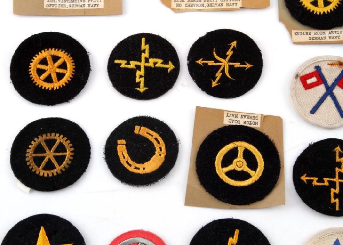 LOT OF 20 GERMAN NSDAP KREIGSMARINE DUTY PATCHES - 3