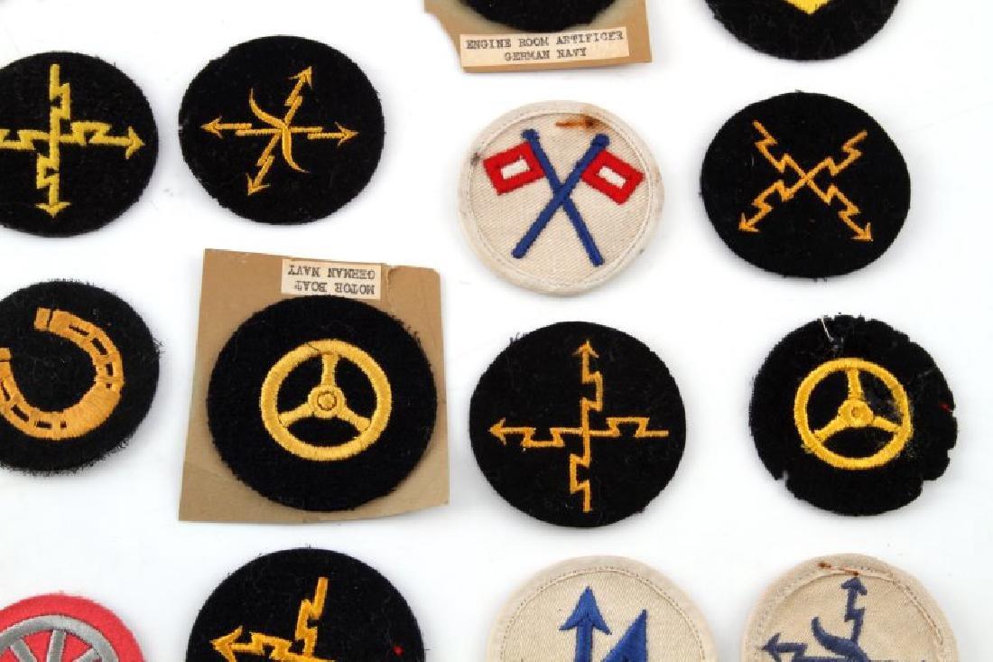 LOT OF 20 GERMAN NSDAP KREIGSMARINE DUTY PATCHES - 4