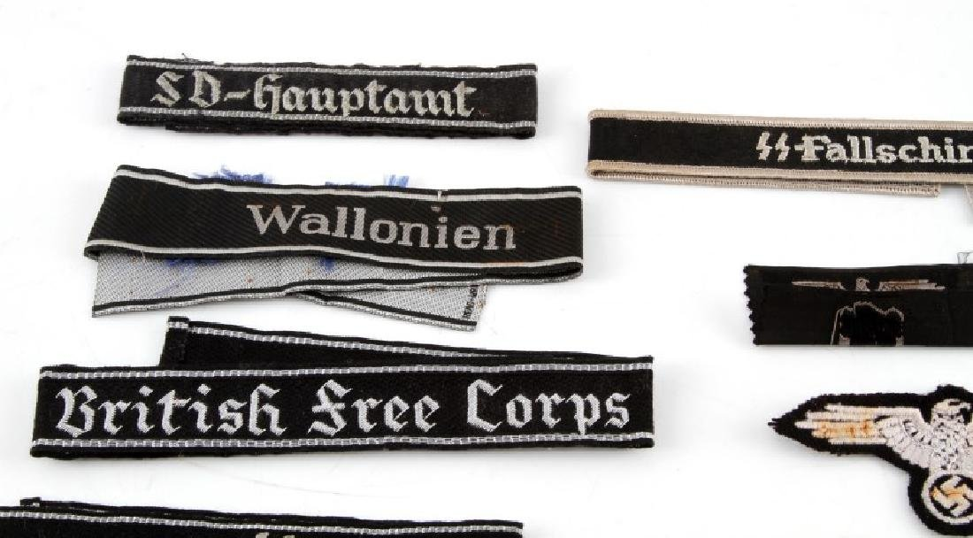 ASSORTED THIRD REICH WAFFEN SS BADGES AND PATCHES - 2
