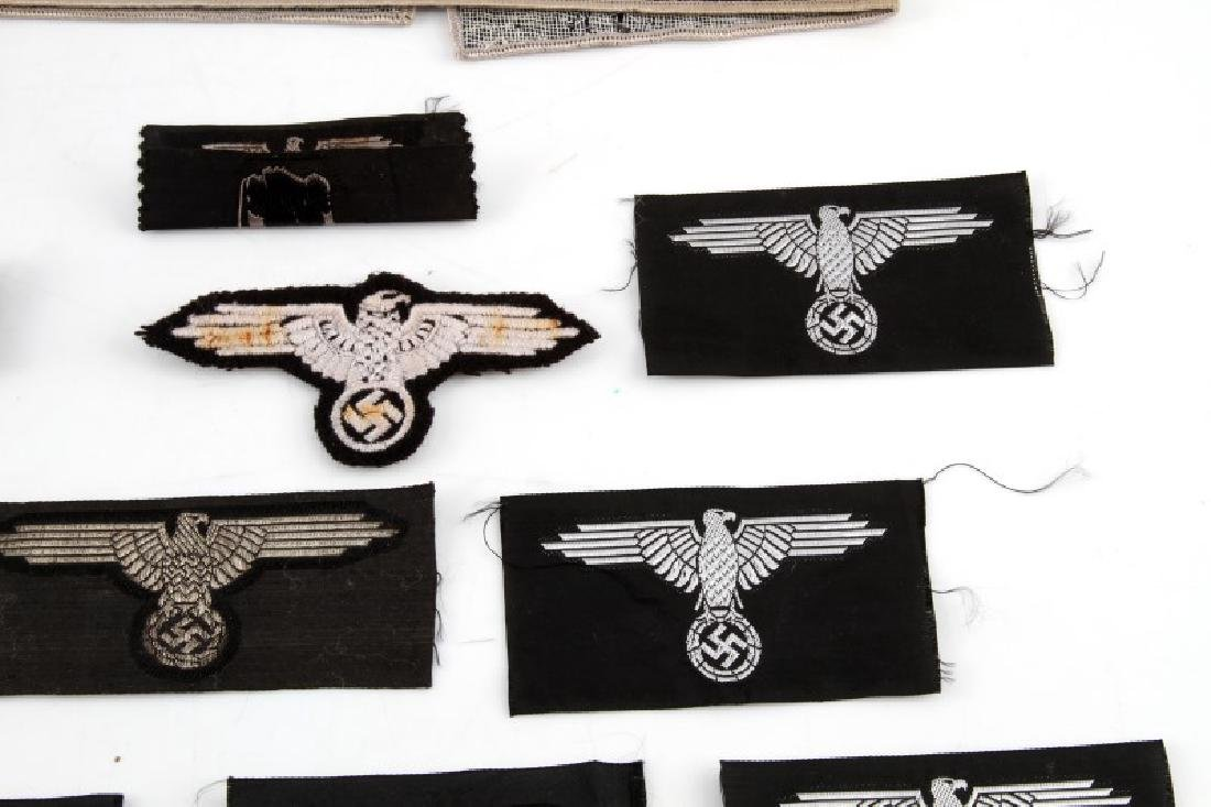 ASSORTED THIRD REICH WAFFEN SS BADGES AND PATCHES - 3