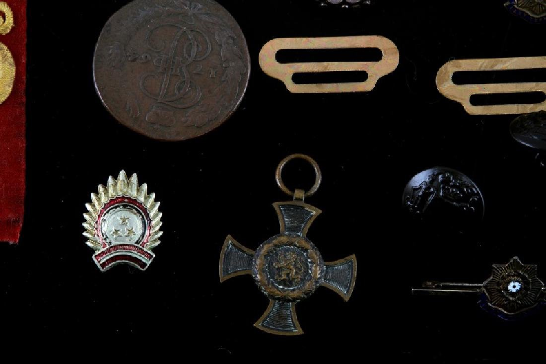 ASSORTED LOT OF EARLY 20TH CENTURY MILITARY ITEMS - 6