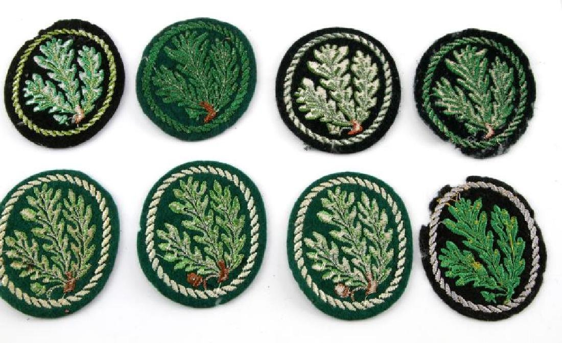 LOT OF 8 WWII ERA GERMAN JAGER DIVISION PATCHES - 4