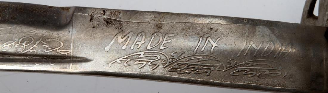 LOT OF 3 1840 CAVALRY DRAGOON SABERS W SHEATHS - 6