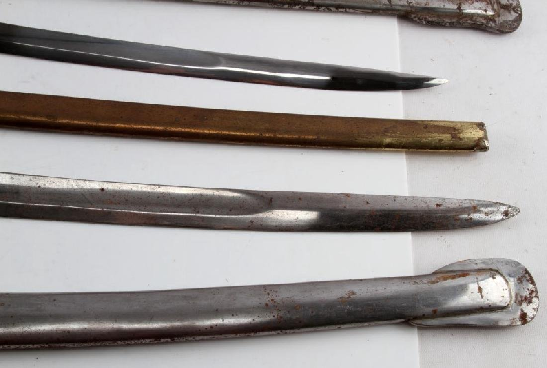 LOT OF 3 1840 CAVALRY DRAGOON SABERS REPRO - 7