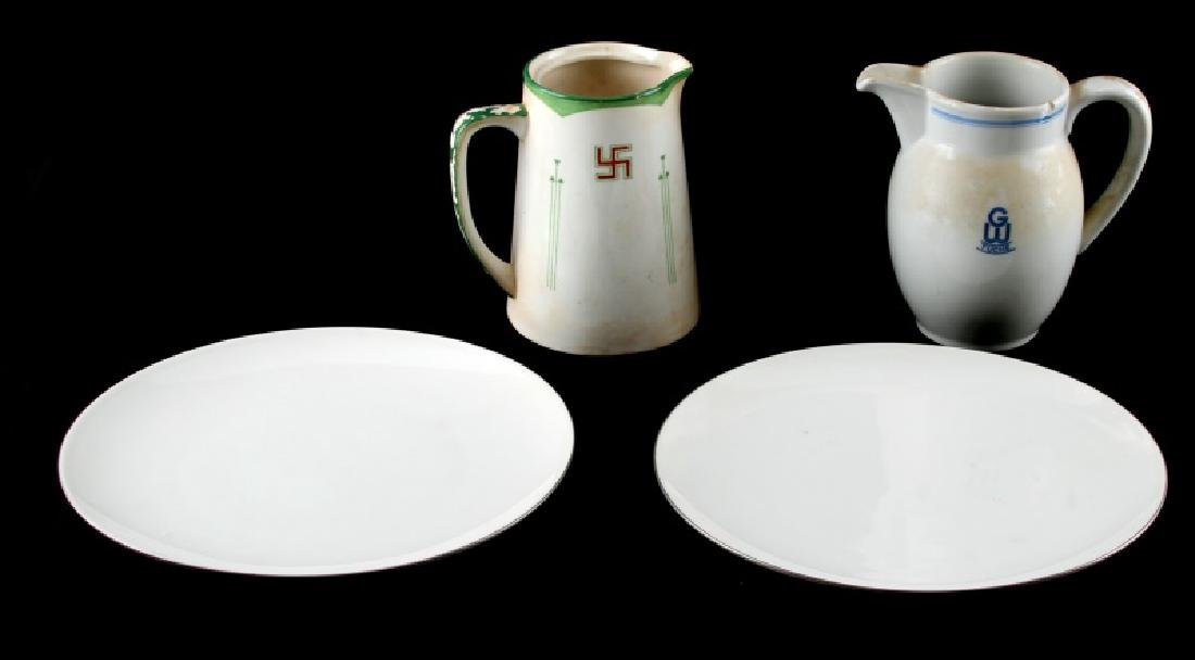 WWII GERMAN THIRD REICH CHINA KPM MAKER