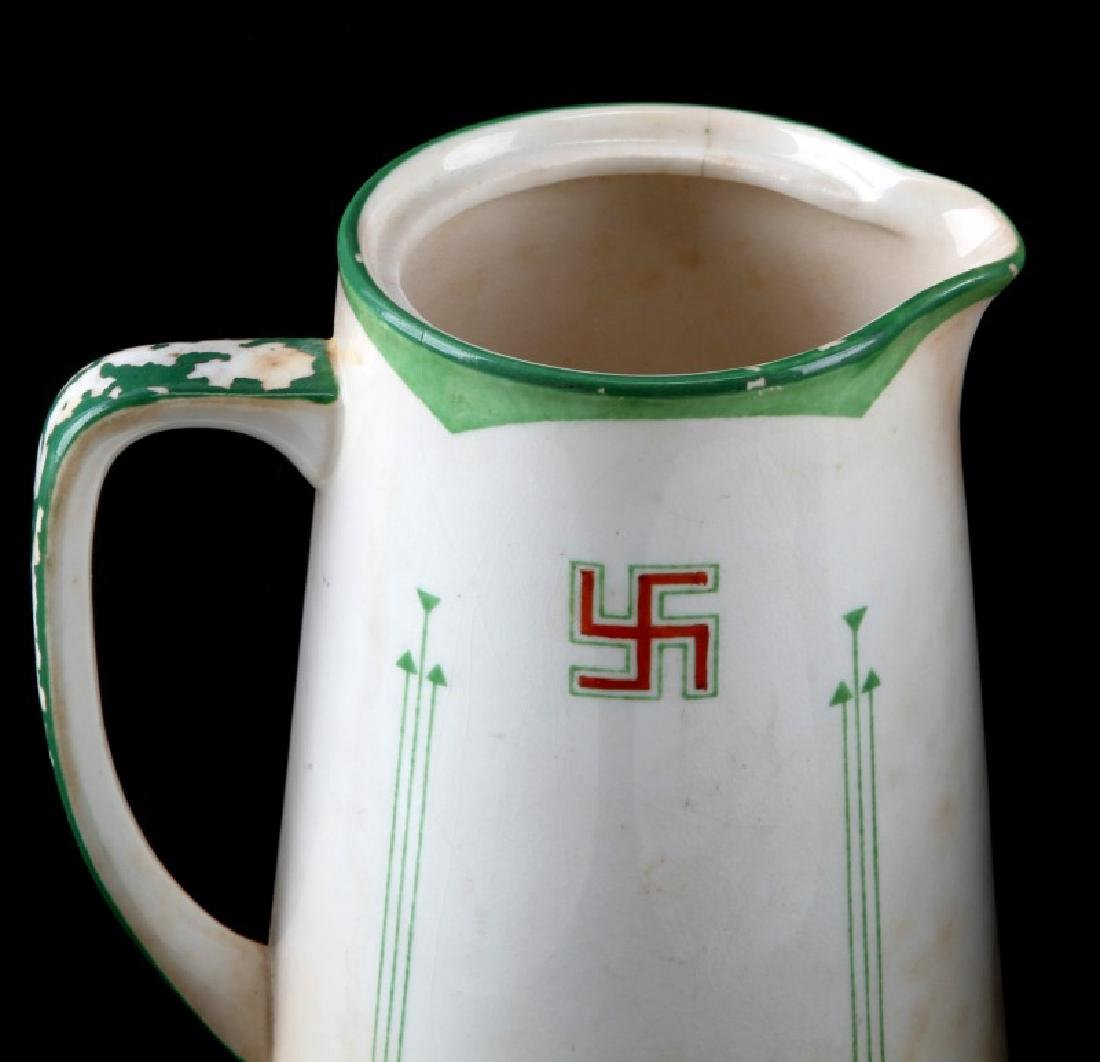 WWII GERMAN THIRD REICH CHINA KPM MAKER - 3