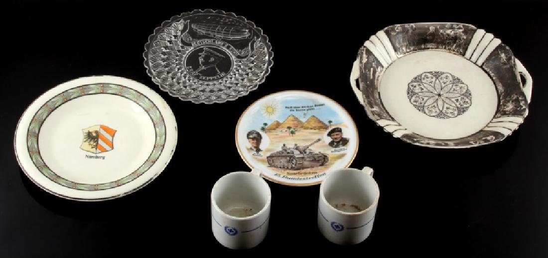 WWII ERA THIRD REICH GERMAN PORCELAIN & CHINA