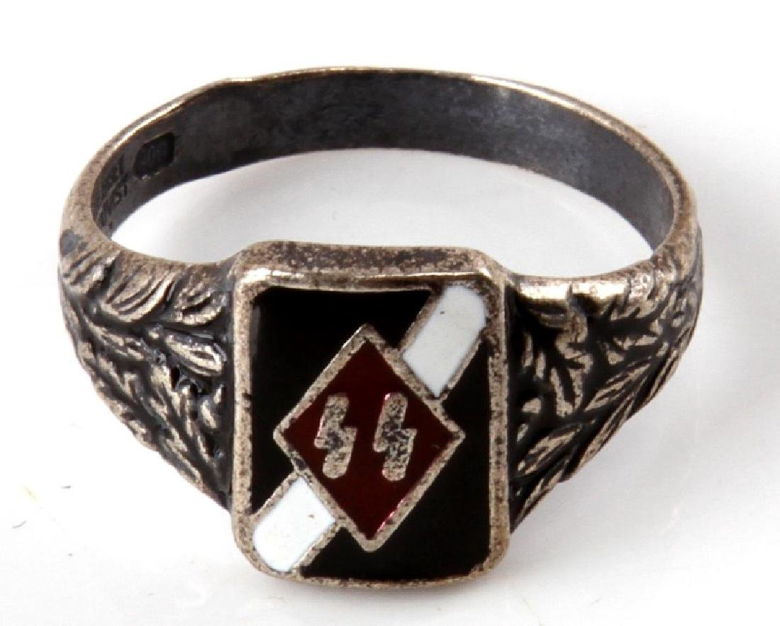 GERMAN WWII WAFFEN SS DIVISION HITLER JUGEND RING