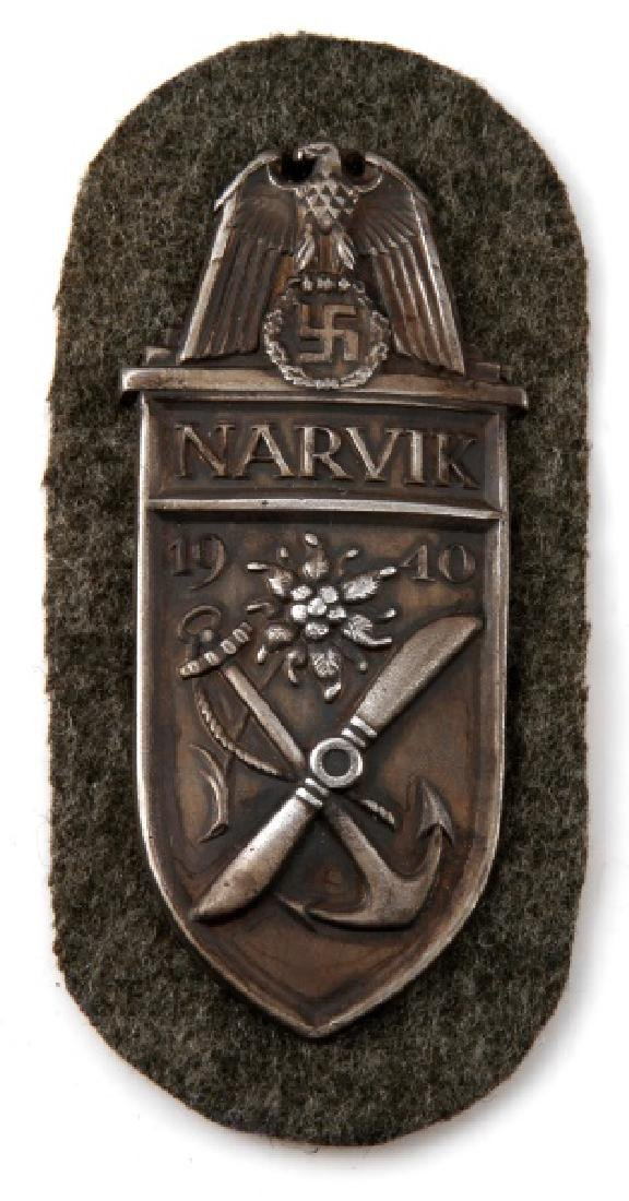 GROUP OF 3 GERMAN WWII PERIOD SHIELDS - 3