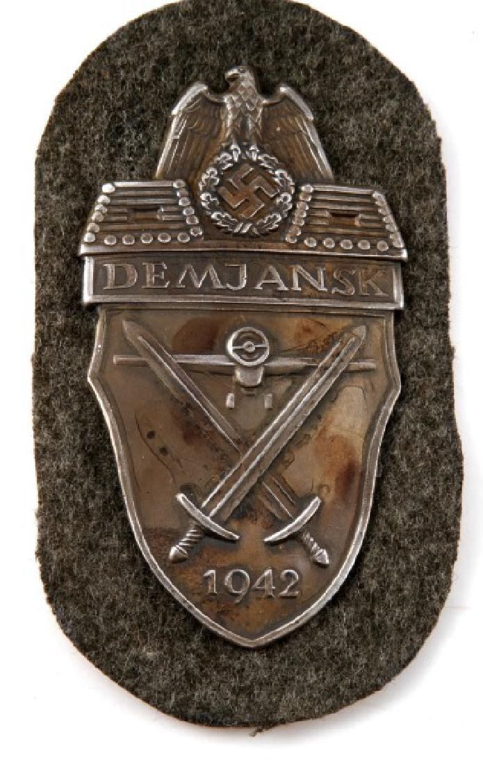 GROUP OF 3 GERMAN WWII PERIOD SHIELDS - 4