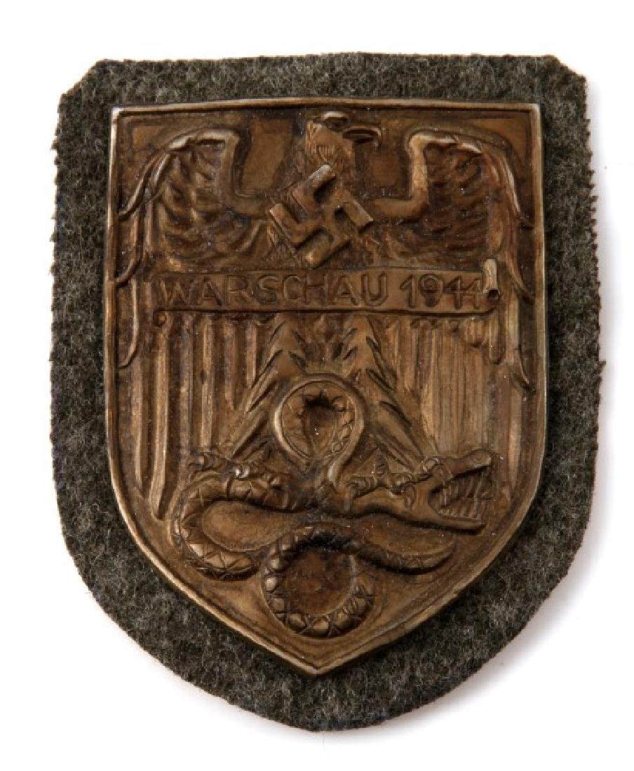 GROUP OF 3 GERMAN WWII PERIOD SHIELDS - 2