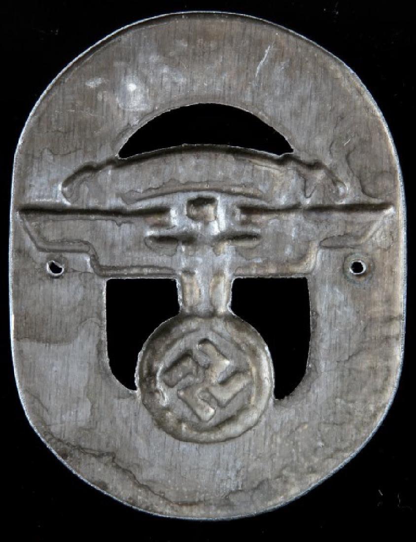 WWII GERMAN 3RD REICH NSKK MOTORSTAFFEL PLAQUE - 2