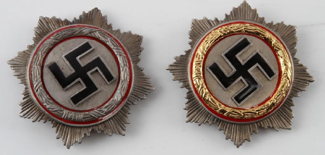 LOT OF 2 WWII 3RD REICH GERMAN CROSSES
