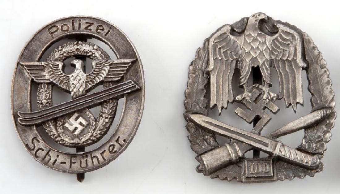 4 GERMAN WWII HEER BADGES ASSAULT ANTI AIRCRAFT - 2