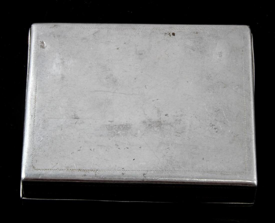 WWII THIRD REICH RUSSIAN COSSACK CIGARETTE CASE - 3