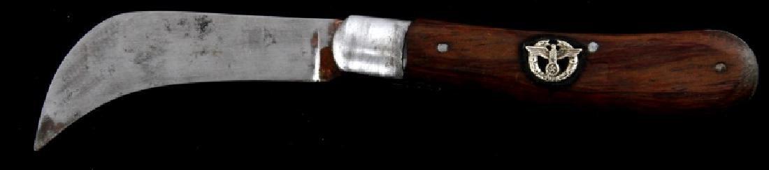 WWII ERA GERMAN THIRD REICH SS POLICE POCKET KNIFE