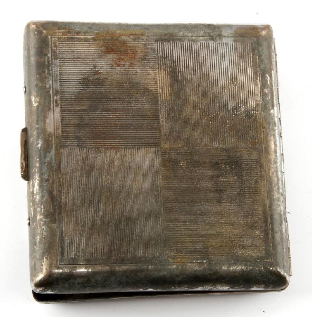 WWII GERMAN  IRON CROSS WINNER'S CIGARETTE CASE - 3