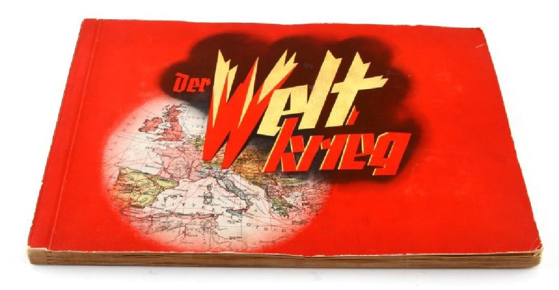 GERMAN 3RD REICH GREAT WAR TOBACCO CARD FULL ALBUM