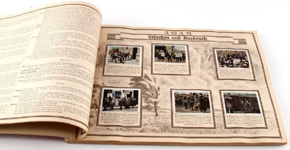 GERMAN 3RD REICH GREAT WAR TOBACCO CARD FULL ALBUM - 2