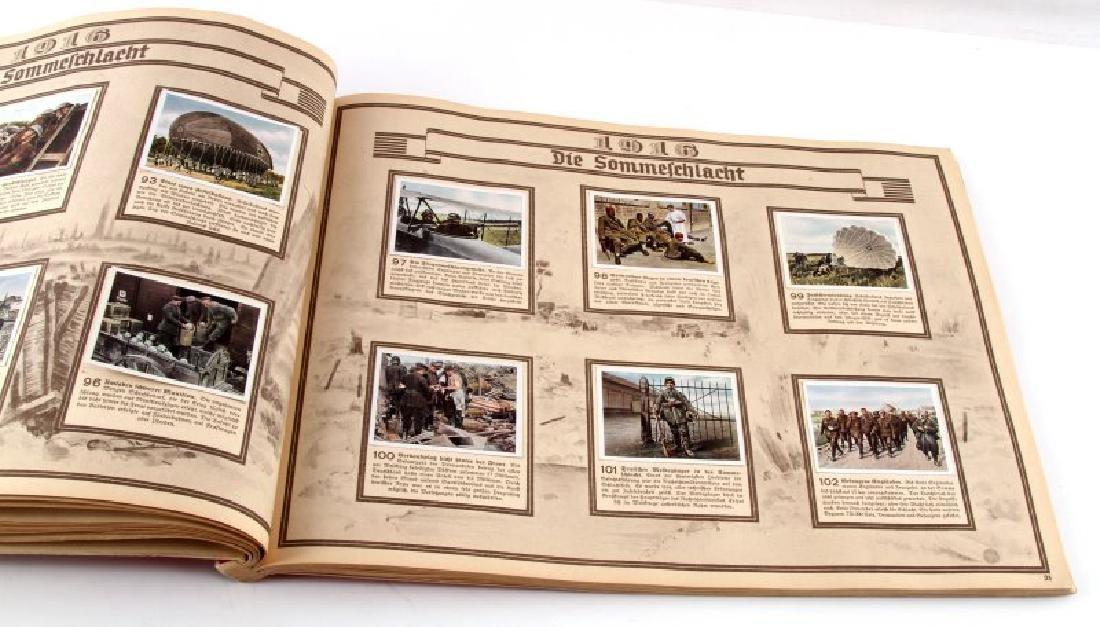 GERMAN 3RD REICH GREAT WAR TOBACCO CARD FULL ALBUM - 3