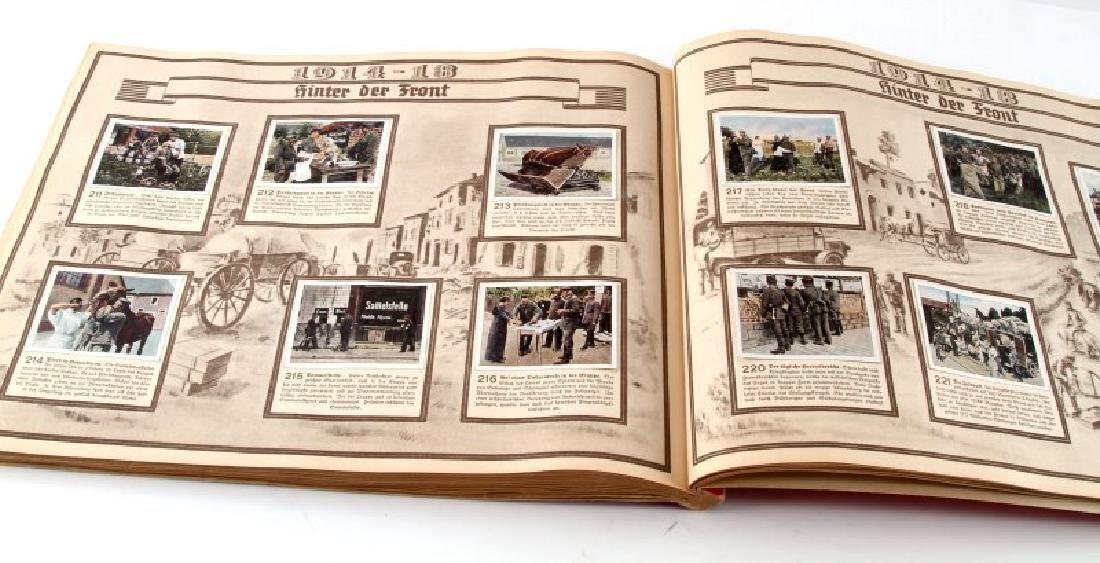 GERMAN 3RD REICH GREAT WAR TOBACCO CARD FULL ALBUM - 4