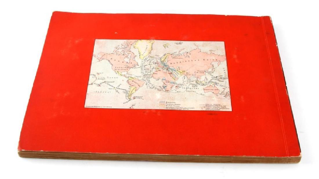 GERMAN 3RD REICH GREAT WAR TOBACCO CARD FULL ALBUM - 5