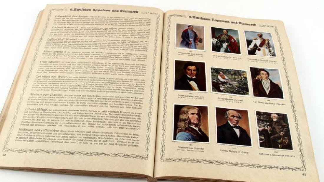 3RD REICH GREATS WORLD HISTORY TOBACCO CARD ALBUM - 4