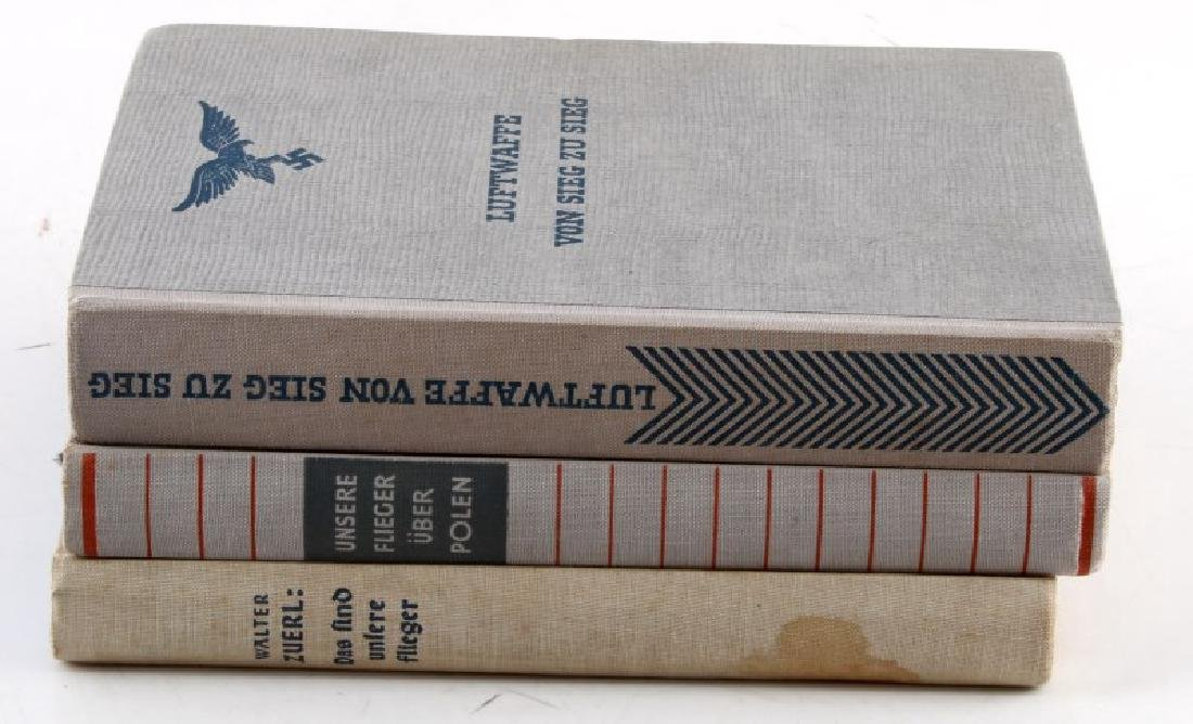 LOT 3 GERMAN WWII 3RD REICH PERIOD LUFTWAFFE BOOKS