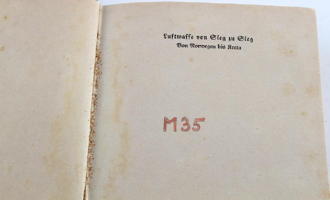 LOT 3 GERMAN WWII 3RD REICH PERIOD LUFTWAFFE BOOKS - 2
