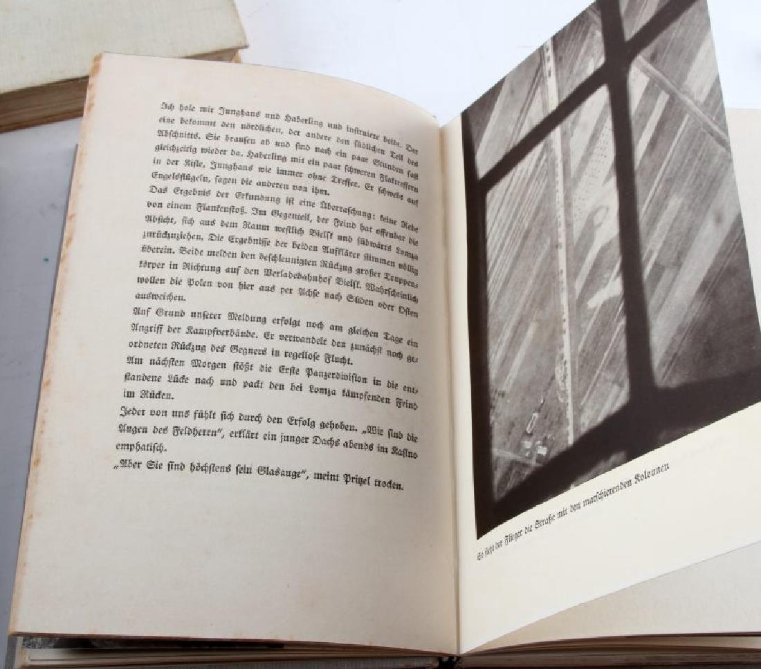 LOT 3 GERMAN WWII 3RD REICH PERIOD LUFTWAFFE BOOKS - 5