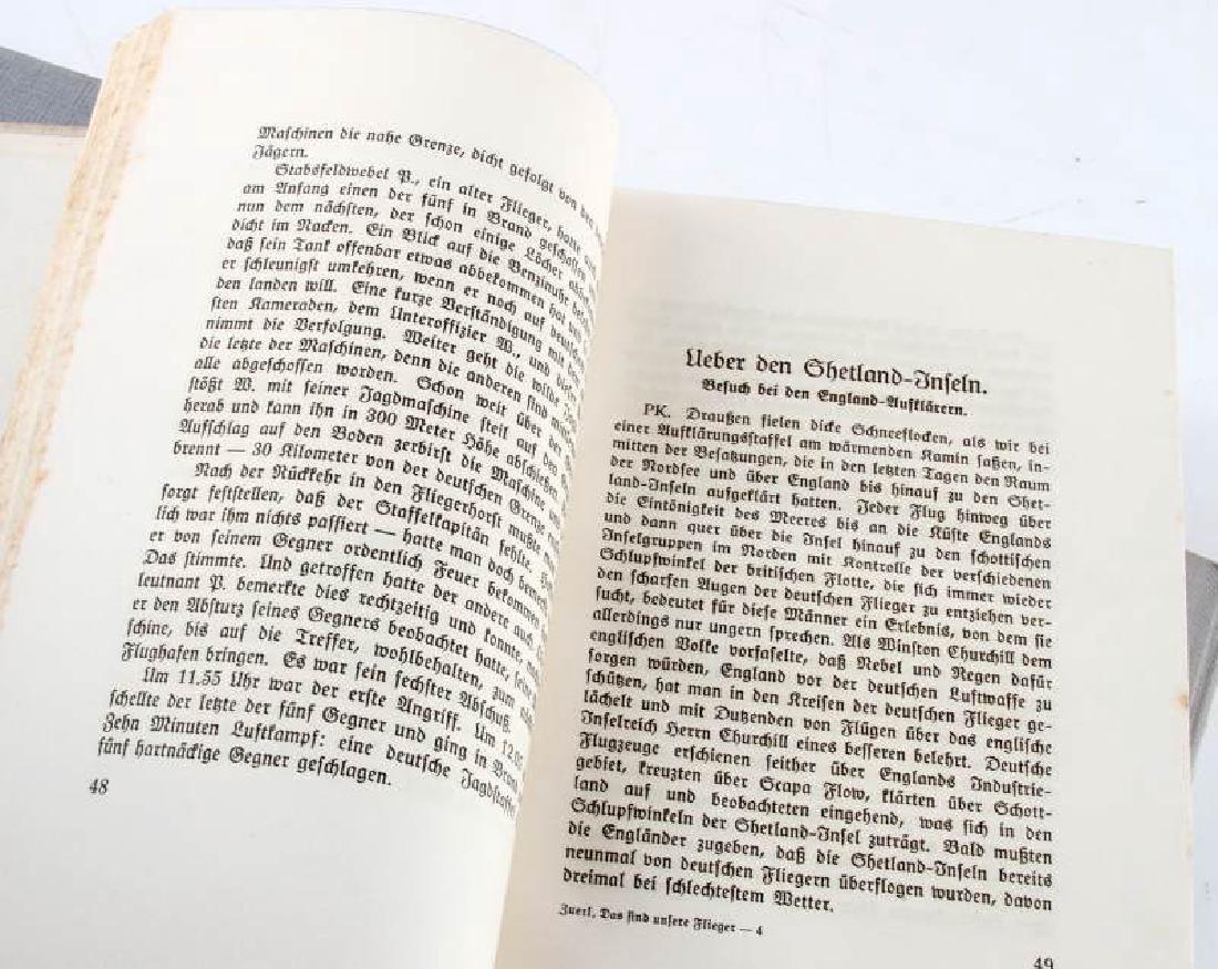LOT 3 GERMAN WWII 3RD REICH PERIOD LUFTWAFFE BOOKS - 6