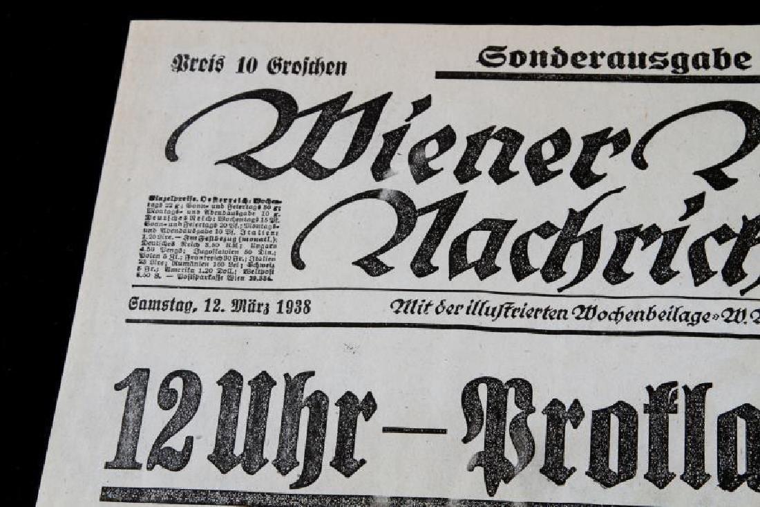 GERMAN 1938 BROADSIDE PROMOTING HITLER & HIMMLER - 2