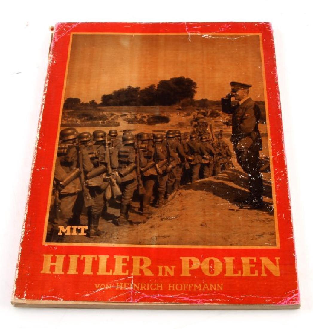 GERMAN WWII PHOTO ALBUM HITLER IN POLAND HOFFMANN