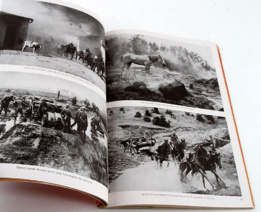 GERMAN WWII PHOTO ALBUM HITLER IN POLAND HOFFMANN - 2