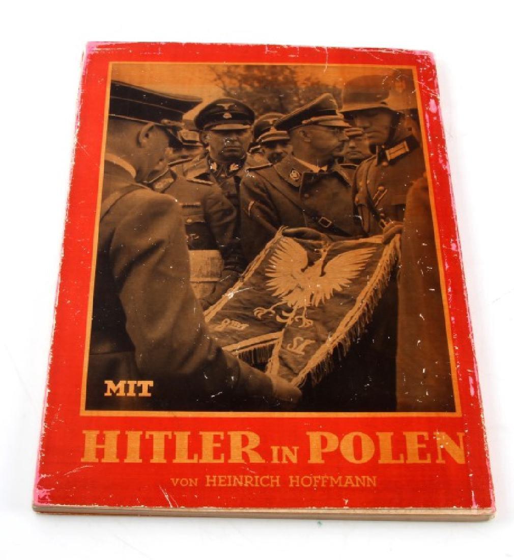 GERMAN WWII PHOTO ALBUM HITLER IN POLAND HOFFMANN - 3