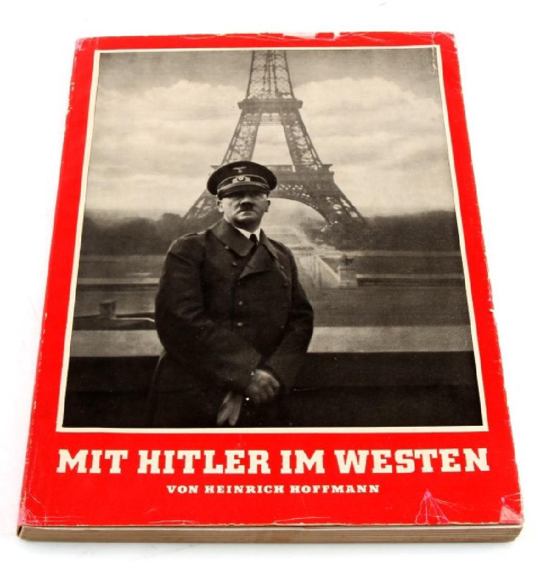 GERMAN WWII PHOTO ALBUM MIT HITLER IM WESTEN