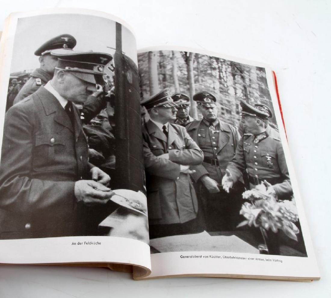 GERMAN WWII PHOTO ALBUM MIT HITLER IM WESTEN - 2