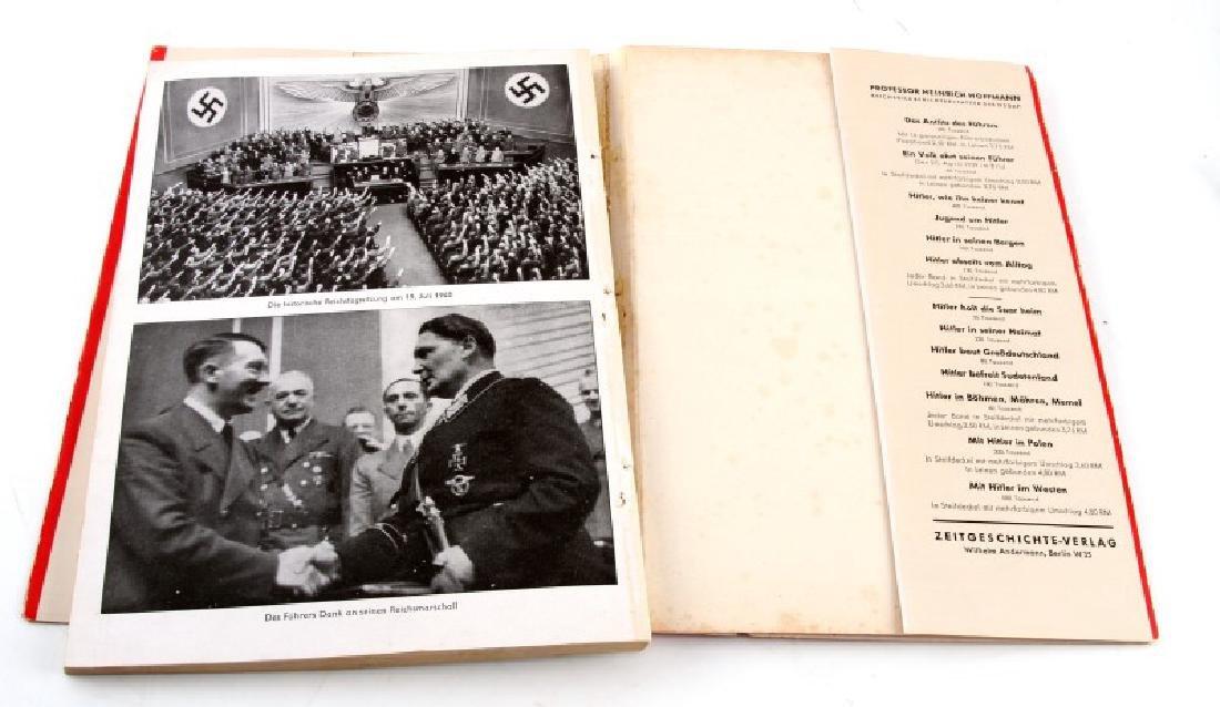 GERMAN WWII PHOTO ALBUM MIT HITLER IM WESTEN - 3