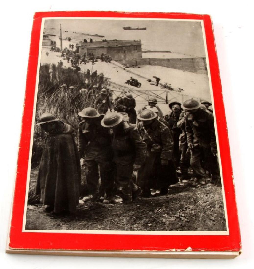 GERMAN WWII PHOTO ALBUM MIT HITLER IM WESTEN - 4