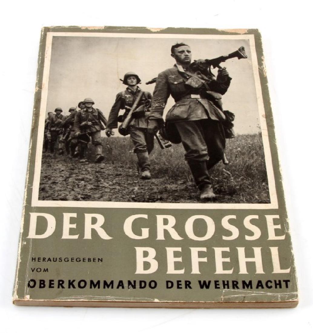 GERMAN WWII PHOTO ALBUM DER GROSSE BEFEHL